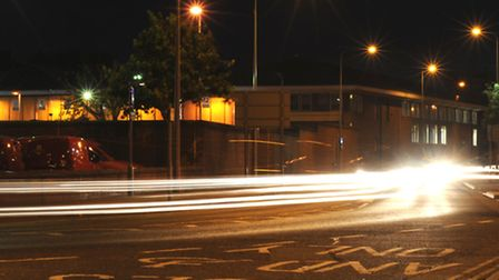 Grafton Way in Ipswich where boy racers fly round using the road like a race track
