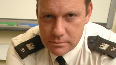 Pc John Alcock, who has been instrumental in driving the Reducing The Strength campaign