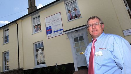 Peter Blemings, director of Gipping Homes, which has bought the former Bartlet Hospital at Felixstow