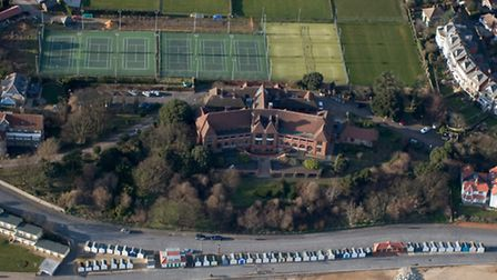 The Bartlet Hospital - set for conversion into luxury homes.