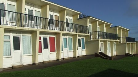 The Suffolk Coastal chalets at Bath Tap, Felixstowe - councillors have agreed to increase the rents