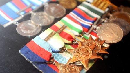 Archie's medals.
