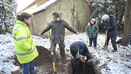 An ice house dating back to Victorian times has been found in Holywells park. An ice house is an und