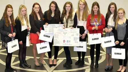 Ipswich High School for Girls held their very own Dragons Den for year 11 pupils. The winners who na
