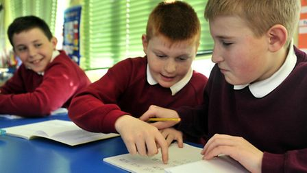Causton School, Felixstowe who are working to improve after a poor Ofsted Report