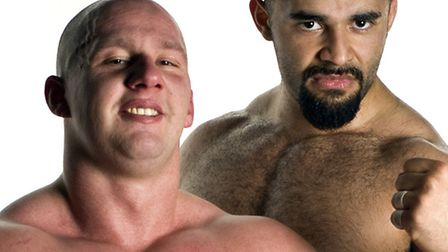 The All Star Superslam Wrestling show at the Corn Exchange on Friday night proved a hit with fans.