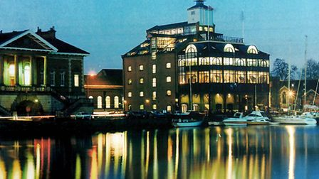 The attractive Waterfront area of Ipswich - a vision that became a reality