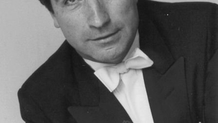 Ken Sillito, who will be playing at a Music in Felixstowe concert tomorrow.