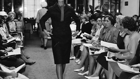 A fashion show at Corders store in Tavern Street, Ipswich in September 1963.