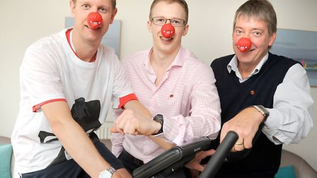 Parry & Gilmore osteopaths are raising money for Comic Relief.