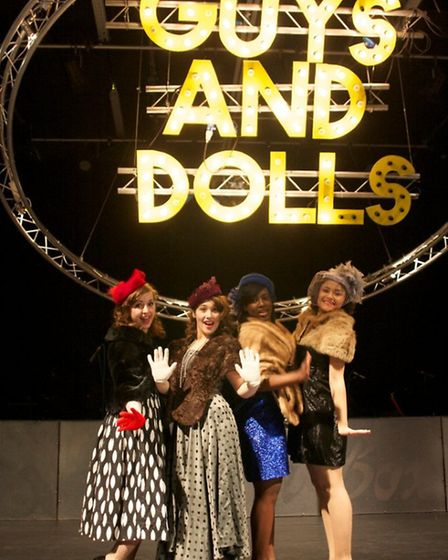Suffolk One's production of Guys and Dolls