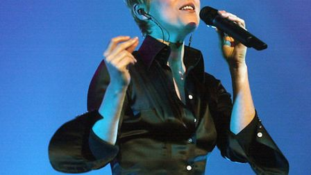 Lisa Stansfield on stage in Ipswich. Picture by Jerry Turner.