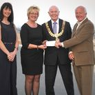 DO NOT USE WITH FELIXSTOWE AWARDS NIGHT COPY - TO BE USED WITH SEPARATE MAYOR'S CHEQUES STORY Mayor