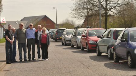 Residents in Sprites/Goldcrest Road, are unhappy with Suffolk One students parking on their roads du