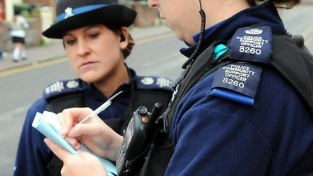 A man was attacked in Ipswich last night