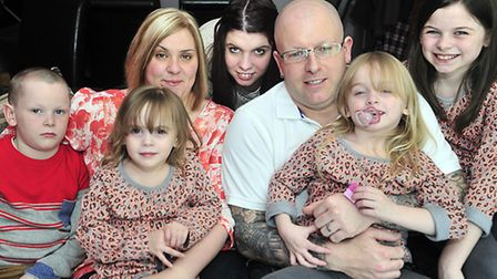 Dawn Robinson of Ipswich has five children, three of which suffer from cystic fibrosis. She is tryin