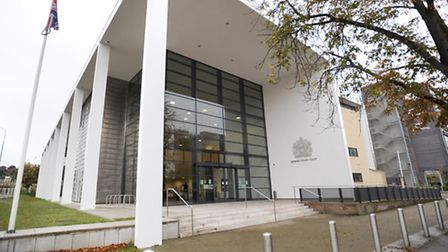 Ipswich Crown Court where a solicitor was jailed for being involved in fraud