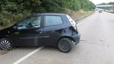 Police are appealing for witnesses following a fail to stop collision on the A14 near to Ipswich. Th
