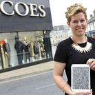 Coes womens wear buyer Cheryl Rawlings doodle design was chosen to be on a shirt by designer Zoe J
