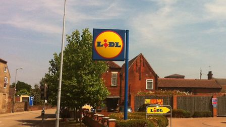 The Lidl store in London Road, Ipswich
