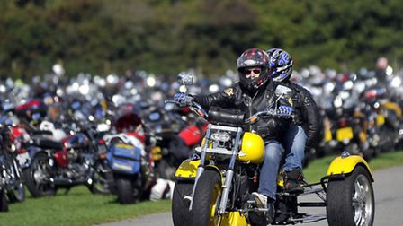 Hundreds of motorcycle enthusiasts parked their bike at Trinity Park on Sunday, 06 October at the 22