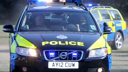 Police are on the hunt for a man who forced a man to drive him across Essex