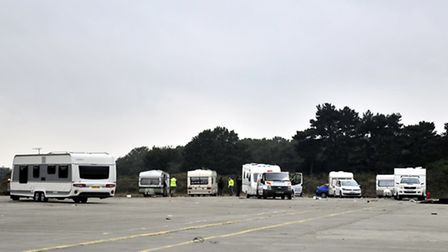 Travellers at Orwell Crossing, Ipswich