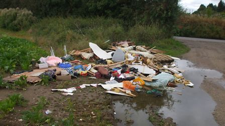 Ipswich man Matthew Lister has been fined for fly-tipping