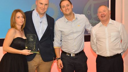 Ipswich bases CAA wins two national awards, ABP Knight of Knights, Gemma Goodwin (S & B Automative),