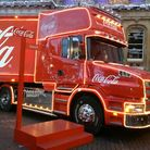 The Coca Cola truck in Ipswich last year - by Emma Hutchison