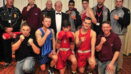 Ipswich Amateur Boxing Club Boxing Banquet at Cameo Hotel, Copdock Ipswich Boxing Club