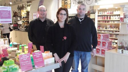 The Java Store, a new furniture, cosmetics and candle store in the Buttermarket Shopping Centre. Ow