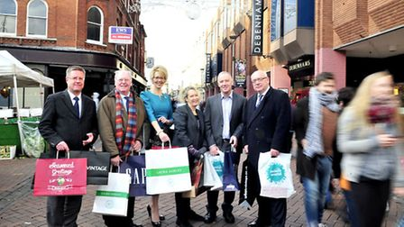 """The launch of Ipswich Centrals """"Make your Christmas an Ipswich Christmas"""" Campaign John Matthews, A"""