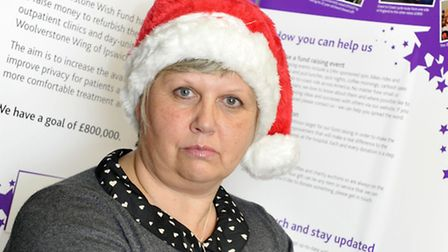 Cheryl Thayer, chairman of the Woolverstone Wish, is trying to find a new Santa