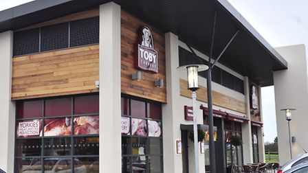 The recently opened Toby Carvery at Ravenswood