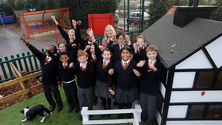 St Mark's Primary School in Ipswich are celebrating being ranked the best-performing school in the c