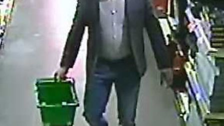 CCTV image released by Suffolk Constabulary