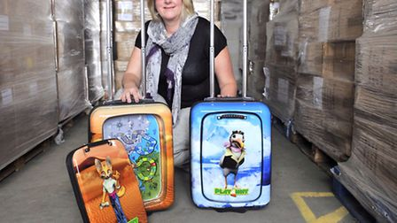 Ipswich businesswoman Jo Kerley was on Dragon's Den with her Playaway cases that are distributed thr