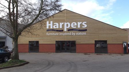 The new Harpers furniture store which is opening soon in Star Lane, Ipswich