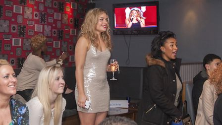 Jade Mayjean Peters from Ipswich who appeared on ITV's 'The Voice'Jade is pictured here in bar Deg