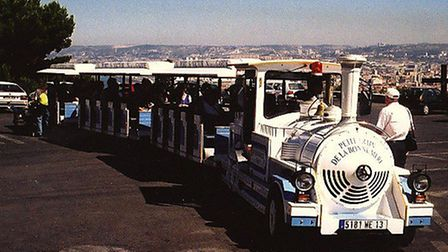 The road train at Marseilles - could a similar idea link the Waterfront to Ipswich town centre?
