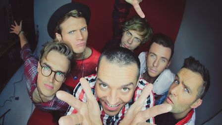 McBusted, one of 14 top pop acts playing Ipswich's Chantry Park this summer