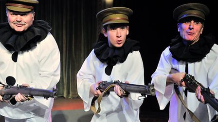 The Gallery Players production of Oh What A Lovely War. Photos: Lucy Taylor