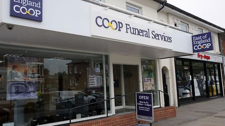 The new Co-op Funeral Services in Norwich Road, Ipswich.