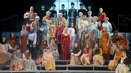Ipswich Operatic & Dramatic Society's production of Jesus Christ Superstar at The Ipswich Regent.