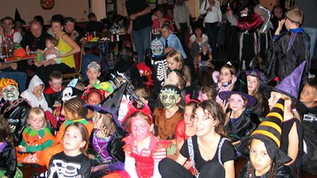 A Halloween party held at the community centre - one of many family activities hosted there