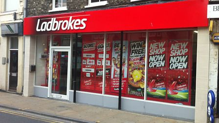 Ladbrokes recently opened a new shop in Dogs Head Street