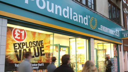 File photo dated 11/01/09 of a general view of a Poundland store in Brixton, London. Bargain chain P