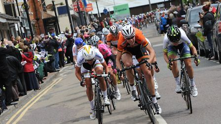 The first day of the Women's Tour sets off in Northamptonshire