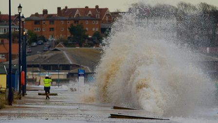 Storm surge of December 2013 - photo by Allan King
